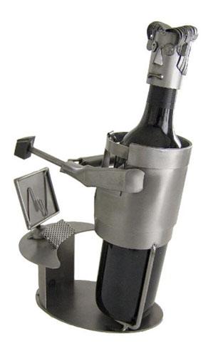 computer-wine-holder