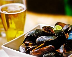 mussel & beer