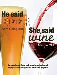 he said beer